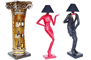 10 Foto Interior Items Bar Counter Floor Lamps Pyramid Of Gifts