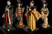 15 Foto Desktop Figures Samurai And Geisha Pyramid Of Gifts
