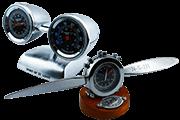 16 Foto Desktop Mini Clock Aircraft Propeller And Turbine Pyramid Of Gifts