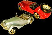 18 Foto Table Mini Clock Retro Car Pyramid Of Gifts