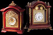 20 Foto Mantel Clock Pyramid Of Gifts
