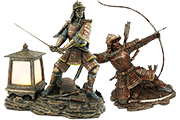 24 Foto Desktop Figures Samurai Pyramid Of Gifts