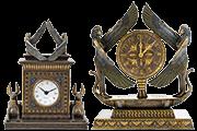 33 Foto Interior Clock Egyptian Theme Goddess Isis Pyramid Of Gifts