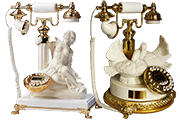 35 Foto Desk Telephones Goddess Diana Pigeons Pyramid Of Gifts