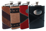 4 Foto Flasks For Alcohol Pyramid Of Gifts