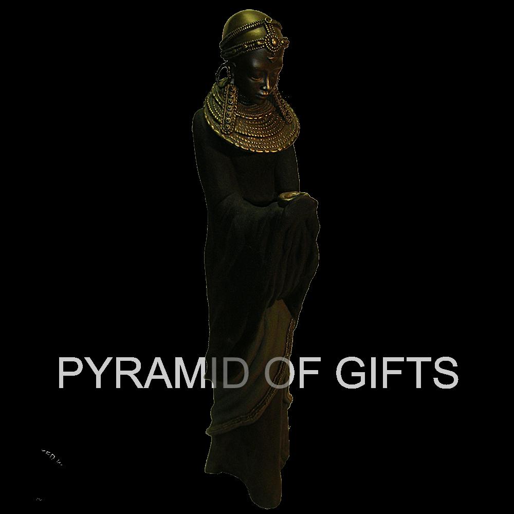 Фото - интерьерная статуэтка африканской женщины - Pyramid Of Gifts