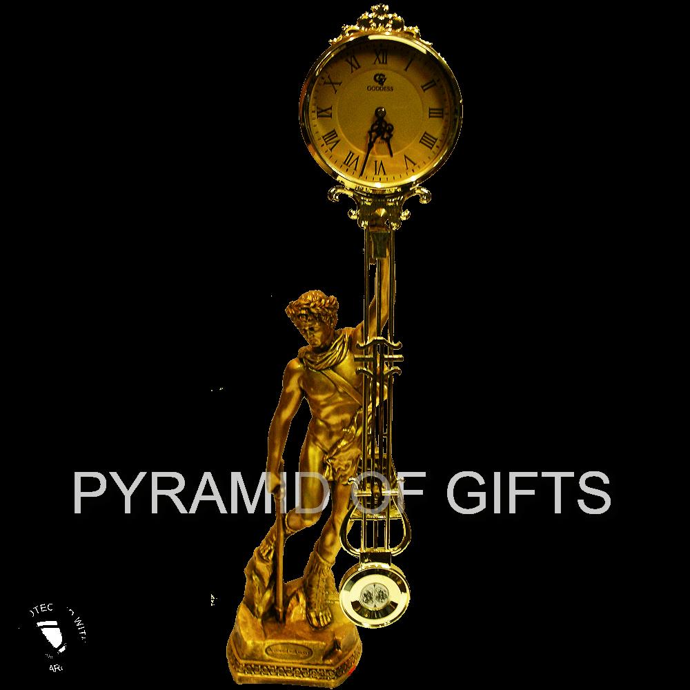 Фото - Часы Цезарь - каминные, с маятником - Pyramid Of Gifts