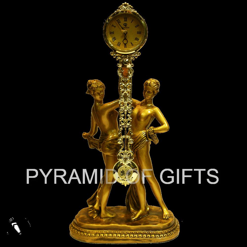 Фото - настольные (каминные) часы с маятником – Две девушки - Pyramid Of Gifts