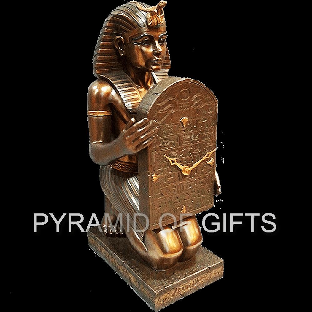 Фото - настольные часы Тутанхамон - Pyramid Of Gifts