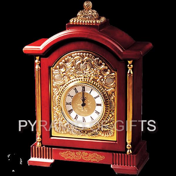 Фото - Настольные часы (каминные) «Paris Clock Anticue Bronze» - Pyramid Of Gifts