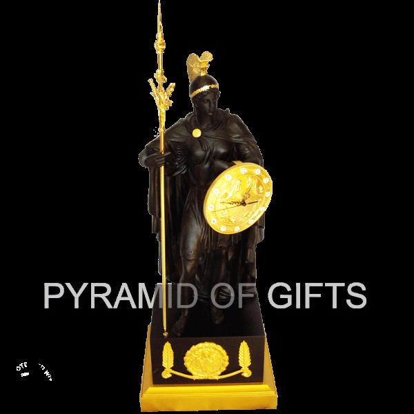 Фото - Настольные часы АФИНА - фигурка Богини - Pyramid Of Gifts