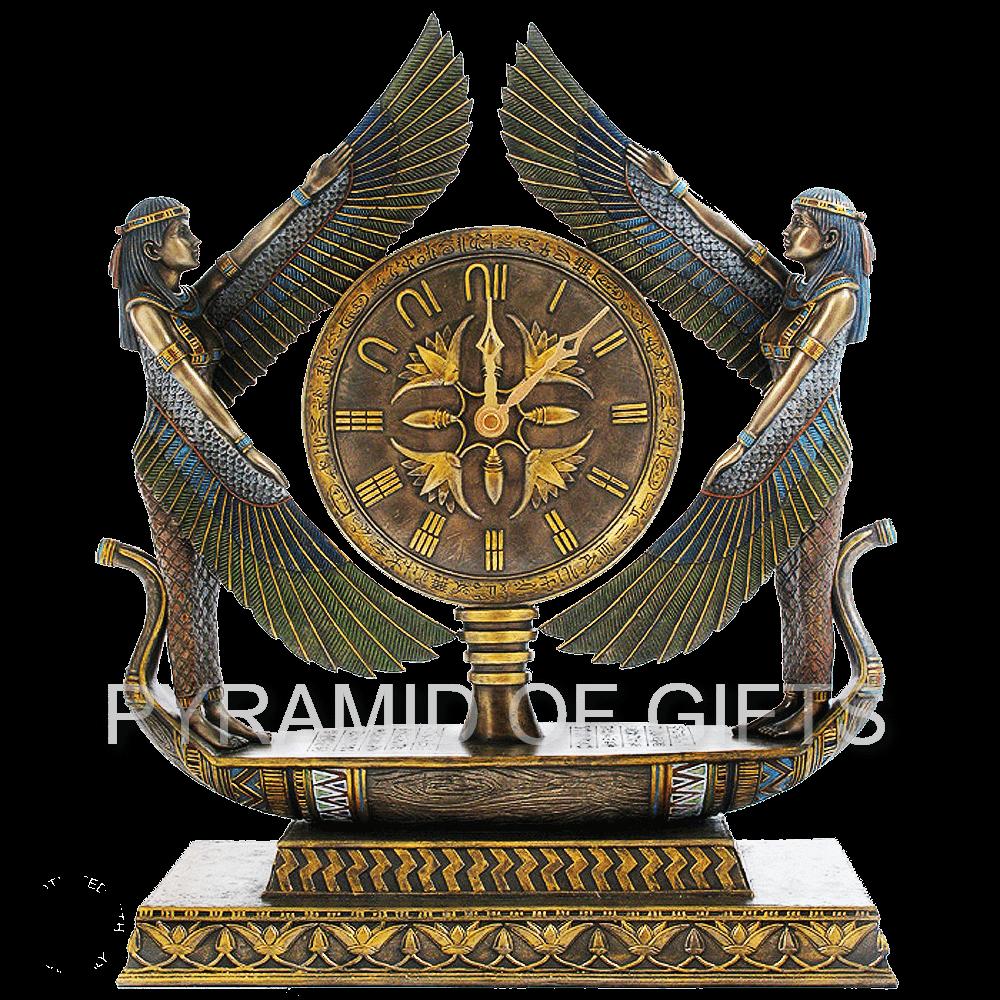 Фото - настольные часы Исида в лодке - Pyramid Of Gifts