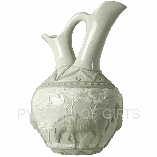 Фото - интерьерная ваза – Африканская зебра - Pyramid Of Gifts