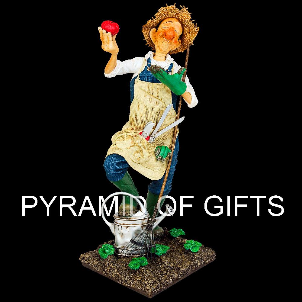 Фото - коллекционная фигурка фермер - Pyramid Of Gifts