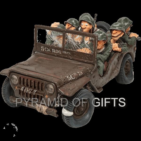Фото - коллекционная фигурка солдат - Боевое задание - Pyramid Of Gifts