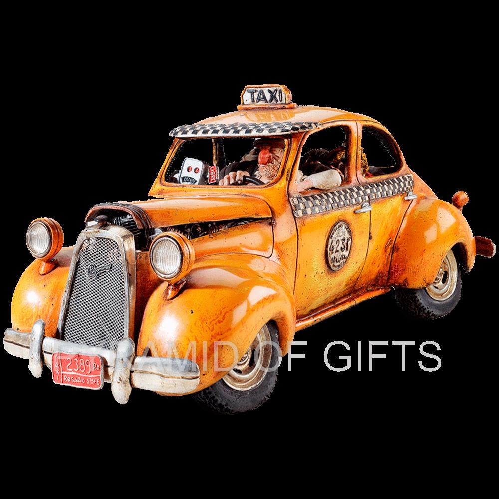 Фото - коллекционная фигурка такси - Pyramid Of Gifts
