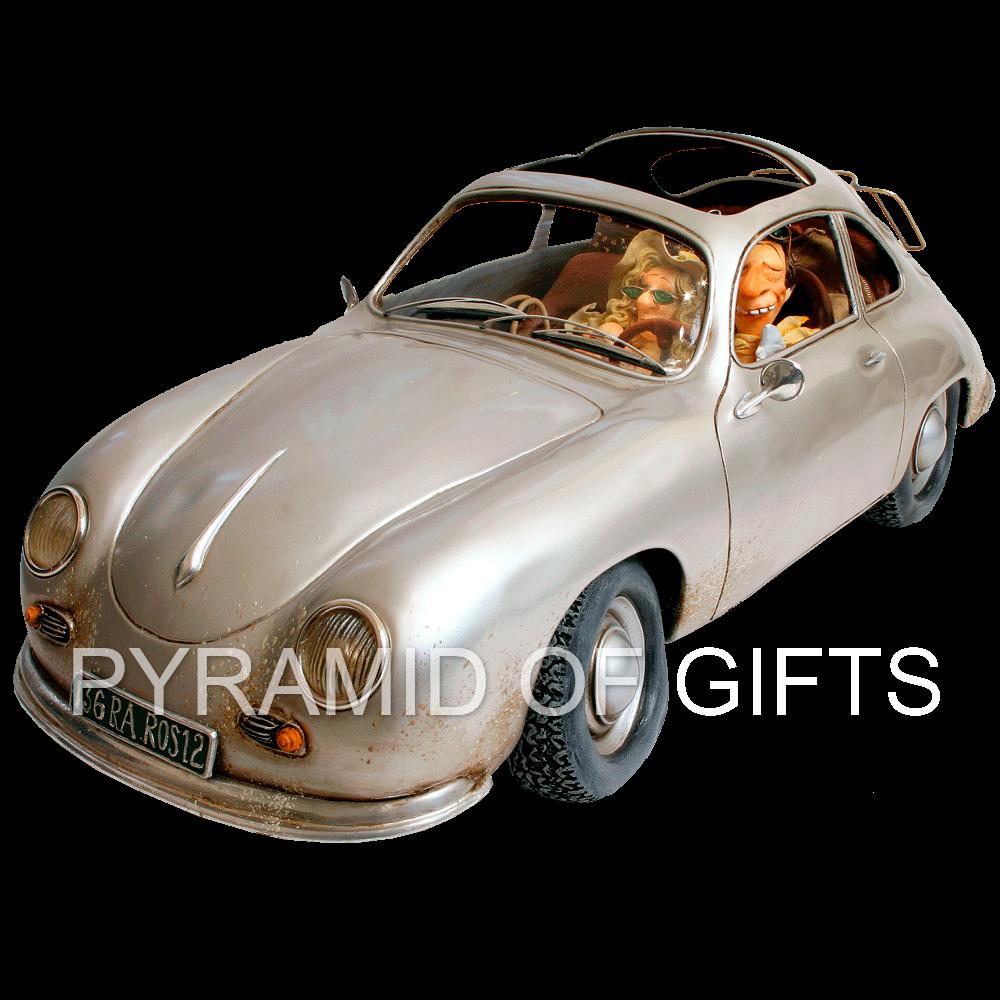 Фото - коллекционная фигурка Порше (маленький) - бизнес поездка - Pyramid Of Gifts