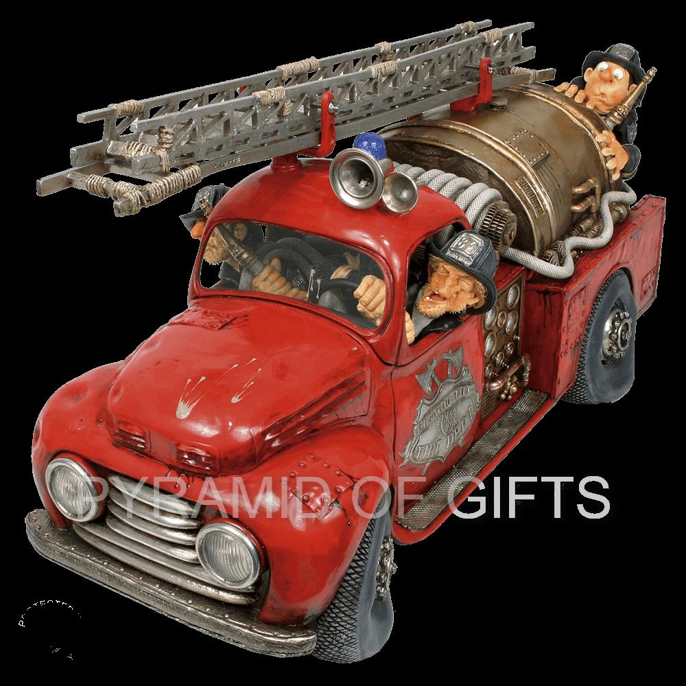 Фото - коллекционная фигурка пожарная машина - Pyramid Of Gifts