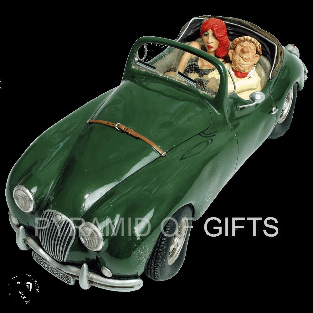 Фото - коллекционная фигурка - машина Ягуар - Мечта - Pyramid Of Gifts