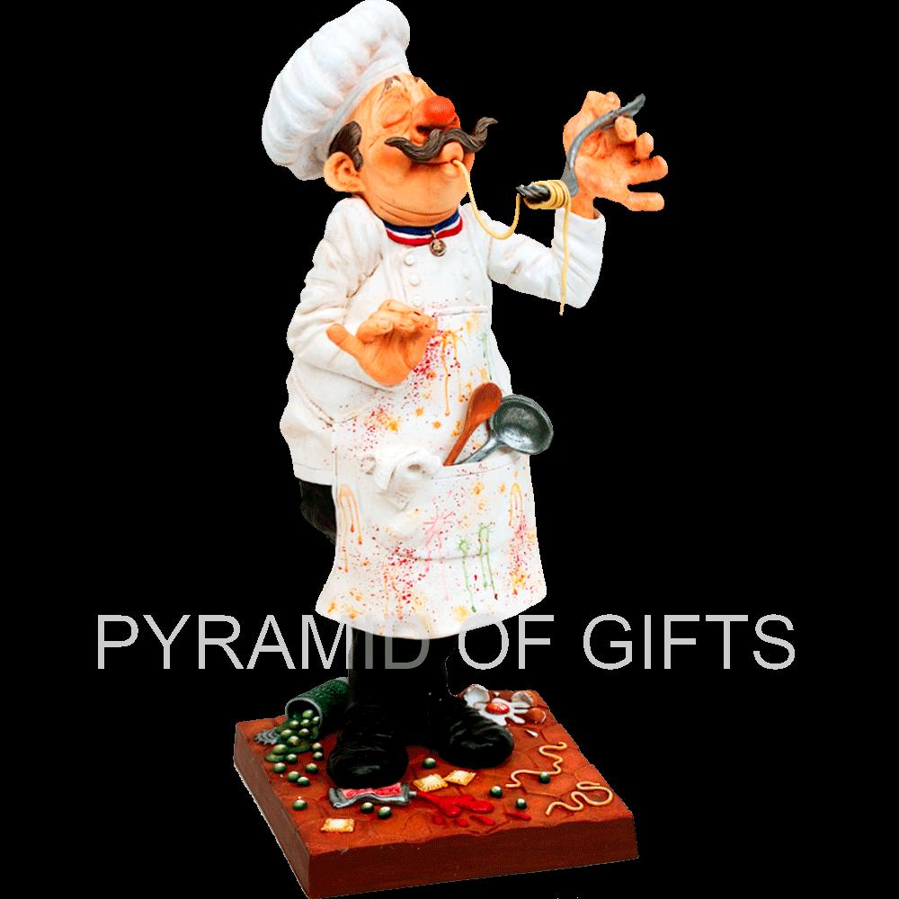 Фото - коллекционная статуэтка повара - Pyramid Of Gifts