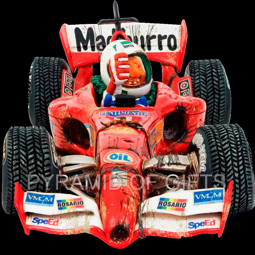 Фото - коллекционная фигурка гонщика - Чемпион Формулы 1 - Pyramid Of Gifts