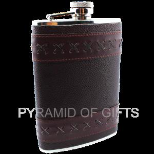 Фото - подарочная фляжка 8oz - Pyramid Of Gifts
