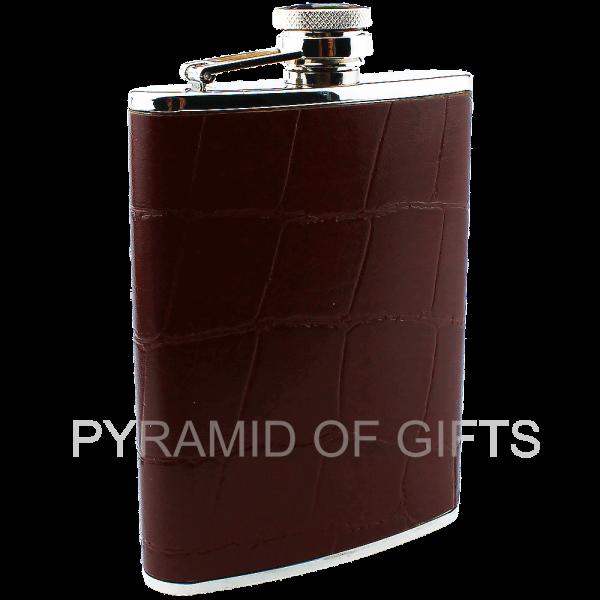 Фото - подарочная фляжка 6oz - Pyramid Of Gifts