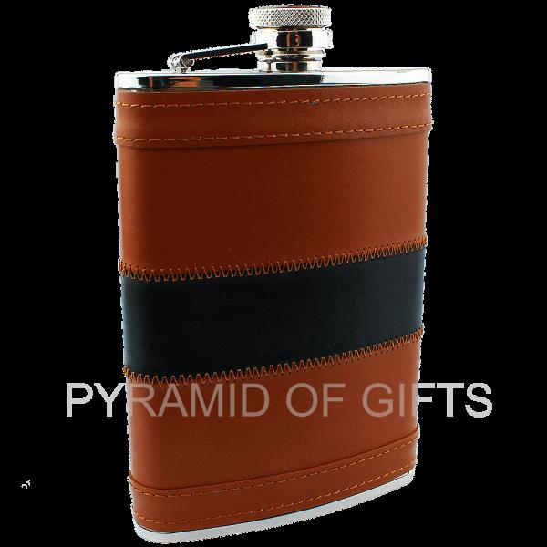 Фото - подарочная фляжка 8oz – презент для мужчины - Pyramid Of Gifts