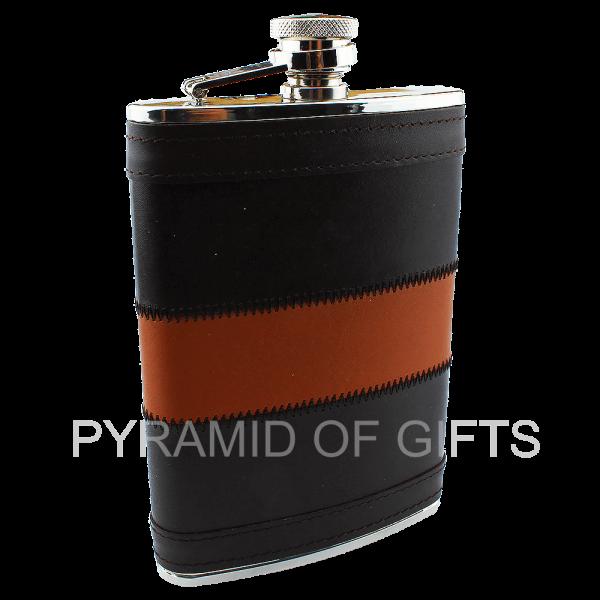 Фото - подарочная фляжка – презент для мужчины 8oz - Pyramid Of Gifts
