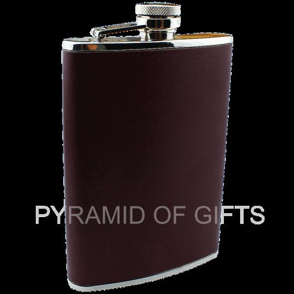Фото - фляжка для алкоголя 8oz - Pyramid Of Gifts