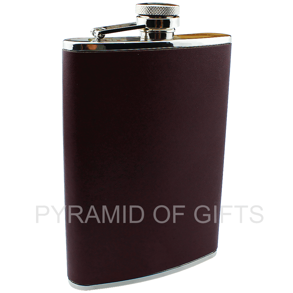 Фото - фляжка для алкоголя 8oz - Pyramid Of Gifts