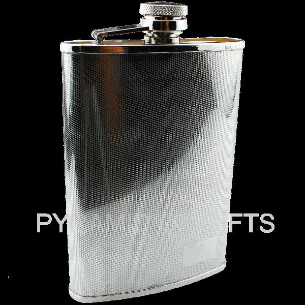Фото - металлическая фляжка для алкоголя 8oz - Pyramid Of Gifts