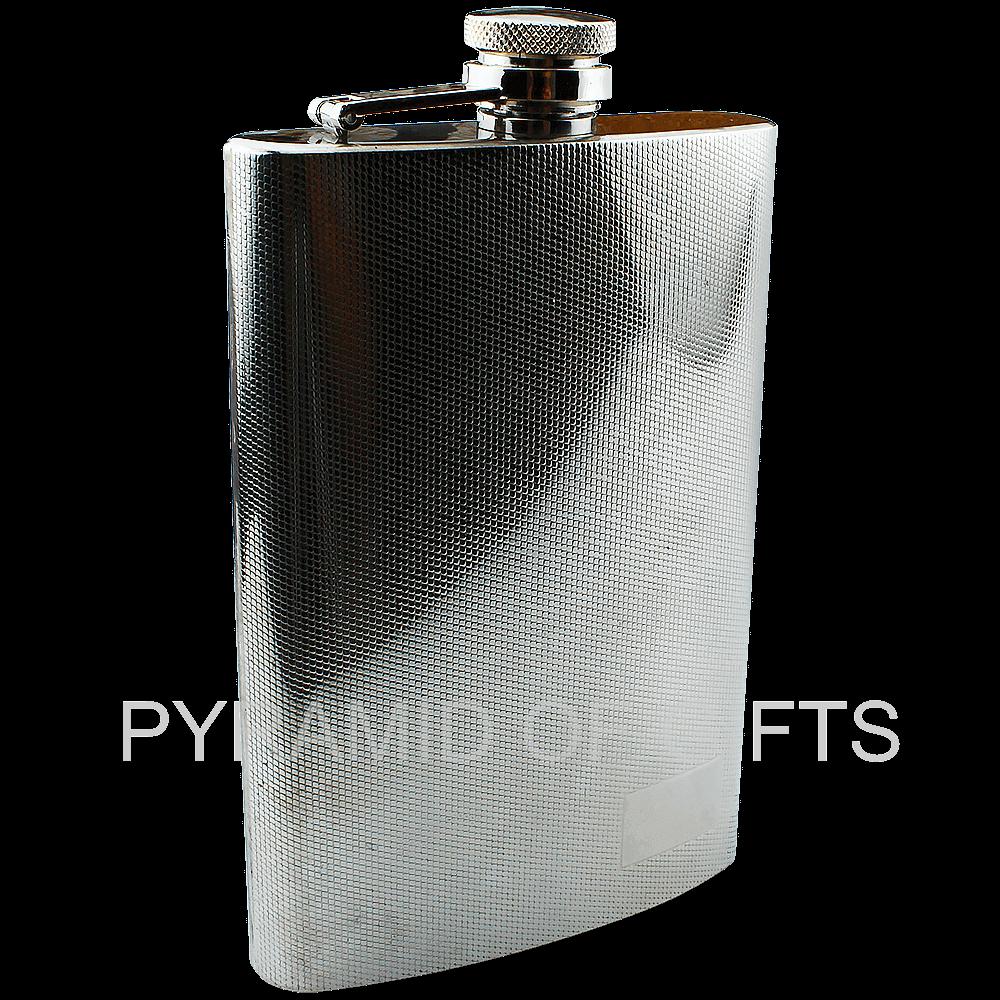 Фото - металлическая фляжка для алкоголя 9oz - Pyramid Of Gifts