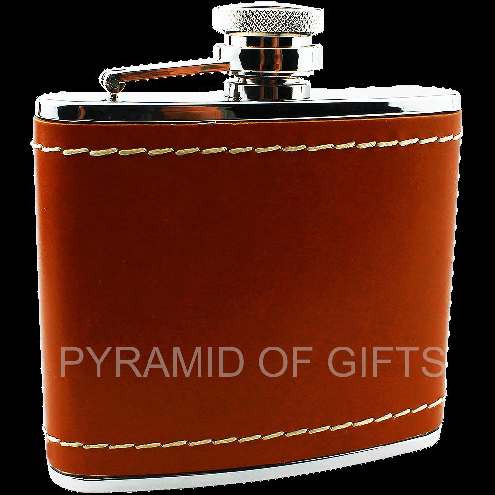 Фото - подарочная фляжка 4oz - Pyramid Of Gifts