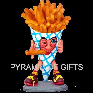 Фото - ростовая, рекламная фигура – Картофель фри - Pyramid Of Gifts
