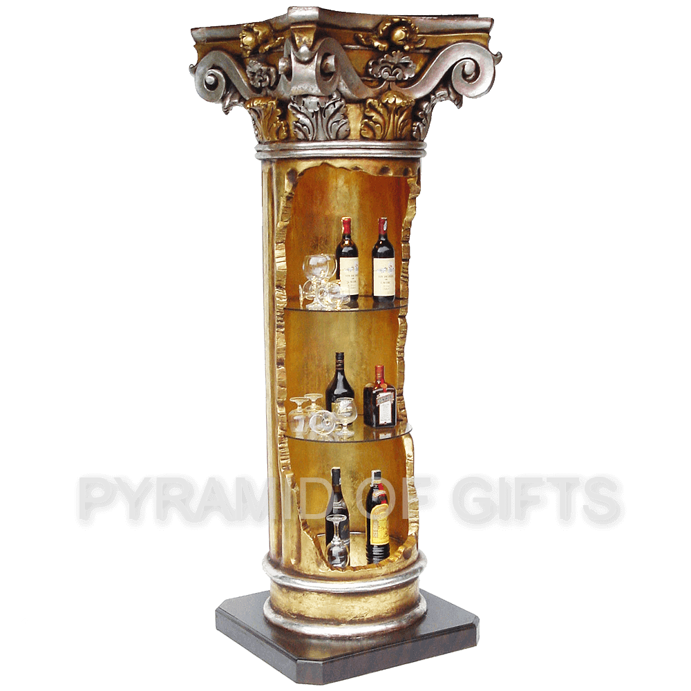 Фото - барная стойка – интерьерная античная колонна - Pyramid Of Gifts