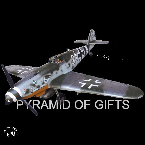 Фото - рекламная модель самолета Messerschmitt Bf109 - Pyramid Of Gifts