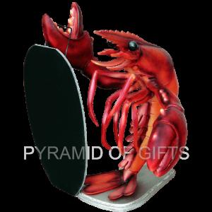 Фото - ростовая, рекламная фигура – Рак с меню - Pyramid Of Gifts