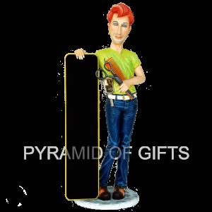 Фото - ростовая, рекламная фигура – Парикмахер - Pyramid Of Gifts