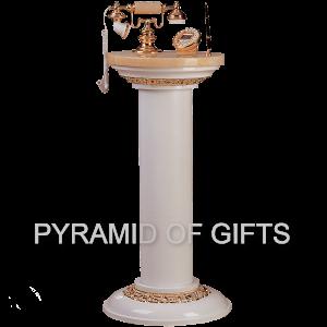 Фото - стойка, напольный телефон для дома – РЕТРО стиля - Pyramid Of Gifts