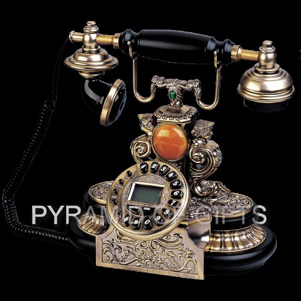 Фото - настольный телефон РЕТРО стиля - Pyramid Of Gifts