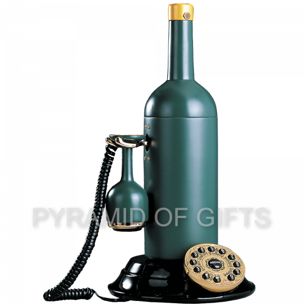 Фото - настольный ретро телефон бутылка - Pyramid Of Gifts