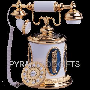 Фото - настольный, интерьерный телефон РЕТРО стиля - Pyramid Of Gifts