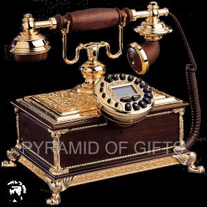 Фото - настольный телефон под старину – РЕТРО стиля - Pyramid Of Gifts