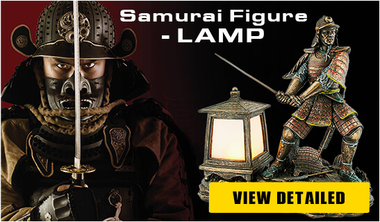 Banner Foto Polymer Figures Samurai Knights - Pyramid Of Gifts