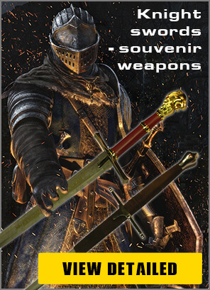 Banner Foto Souvenir Weapon Swords Daggers Armor - Pyramid Of Gifts