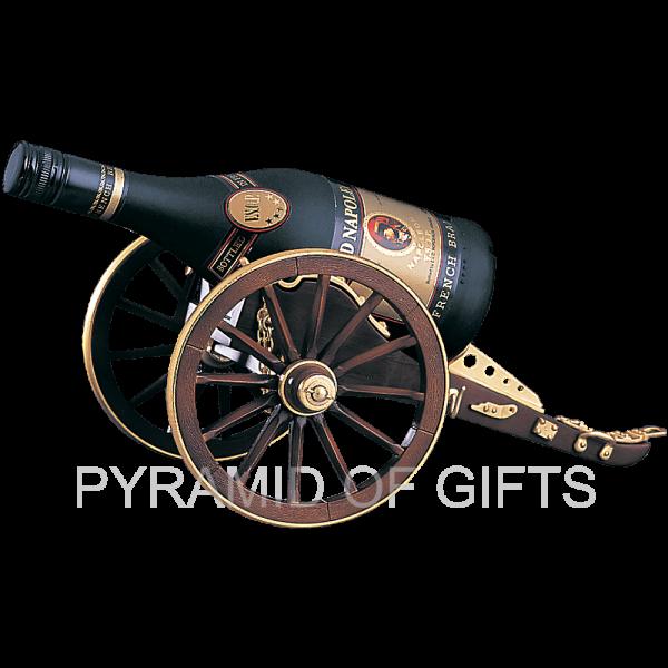 Фото - подставка для бутылки – пушечный лафет - Pyramid Of Gifts