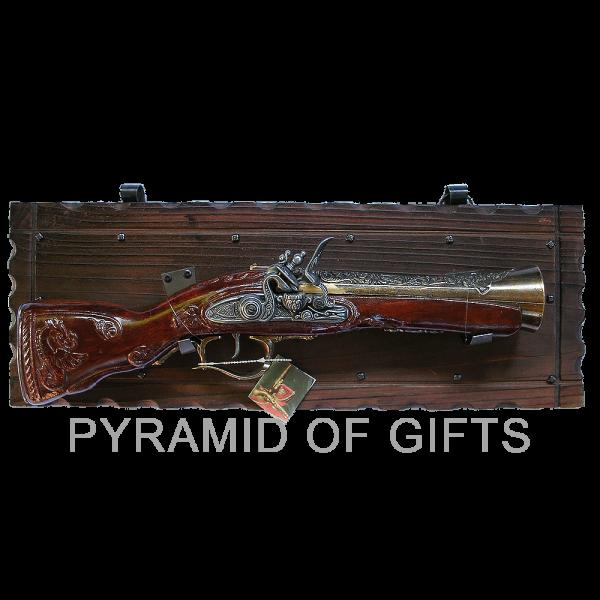 Фото - подарочный пистолет - Pyramid Of Gifts