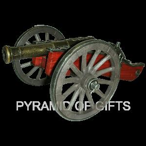Фото - сувенирная, старинная военная пушка – 18 век - Pyramid Of Gifts