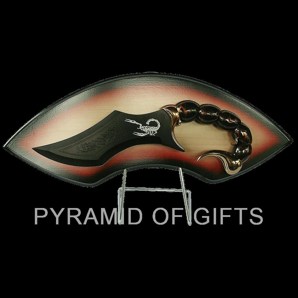 Фото - декоративный кинжал фентази Скорпион - Pyramid Of Gifts